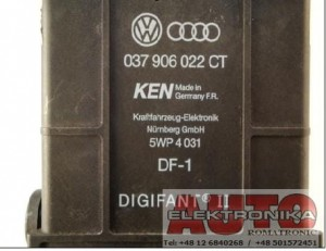 Sterownik komputer  Digifant VW Golf Passat 1.8 ( PF , PB ) 037906022CT 5WP4031 / 037 906 022 CT , 5WP4 031